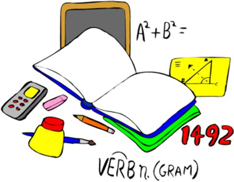 imagenes libro matematicas dibujos cosas del colegio