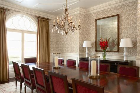 Wallpaper In Dining Room by Furniture D Design Wallpaper And Paint For Dining Room D