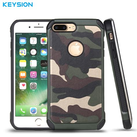 Flip Wallet Army Camo Series Hybrid keysion army camouflage phone for iphone 7 2in1 armor hybrid plastic tpu army cover best