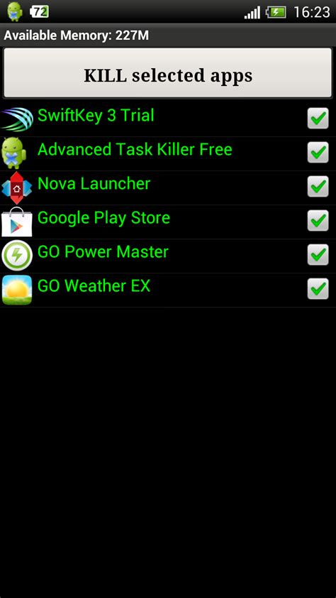 killer app for android android app killer
