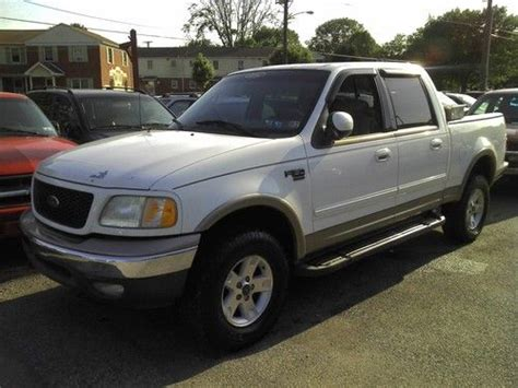 small engine repair training 1998 ford f150 user handbook buy used 2002 ford f150 lariat supercrew 5 4l v8 truck in york pennsylvania united states for