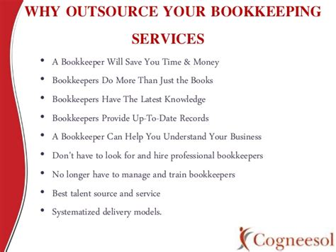 accounting and bookkeeping services for u s business