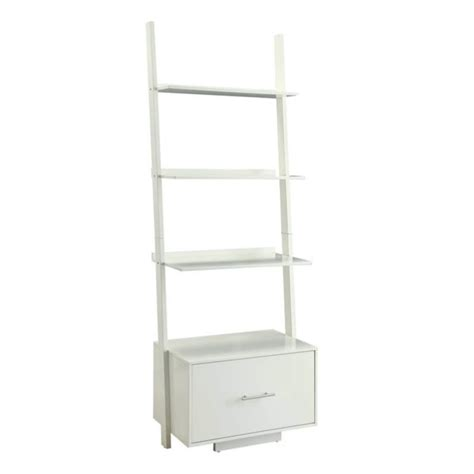 white bookcase with drawer bookcase file drawer in white 8043491w