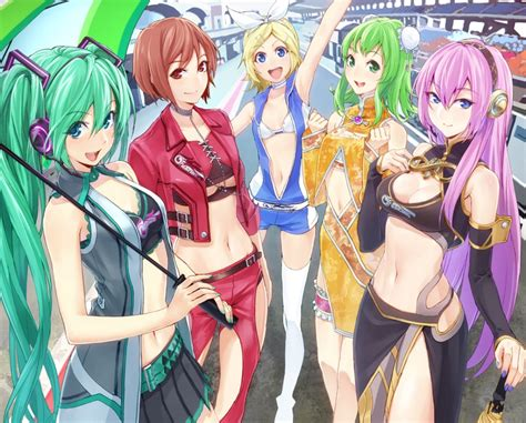 anime vocaloid the girl group computer wallpapers desktop backgrounds