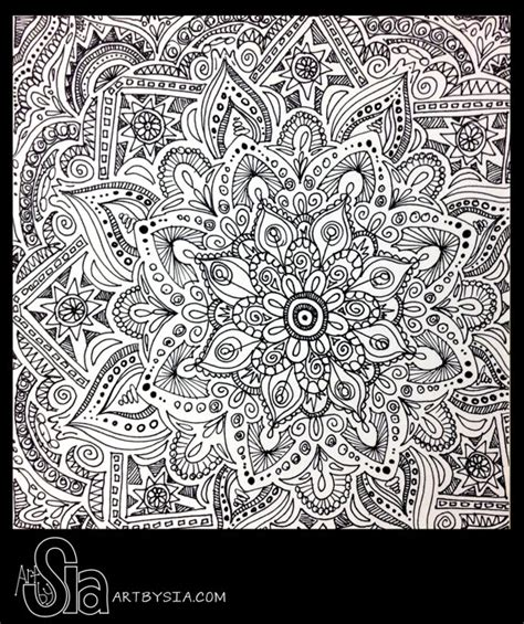 how to draw zentangle flowers google search art original zentangle doodle drawing modern abstract art pen