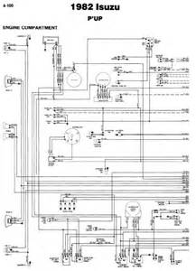 Isuzu Wiring Diagram Repair Manuals Isuzu P Up 1982 Wiring Diagrams