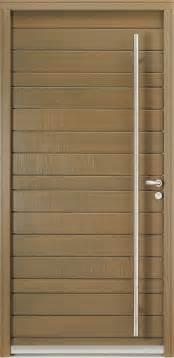 porte d entr 233 e bois contemporaine portes bel m