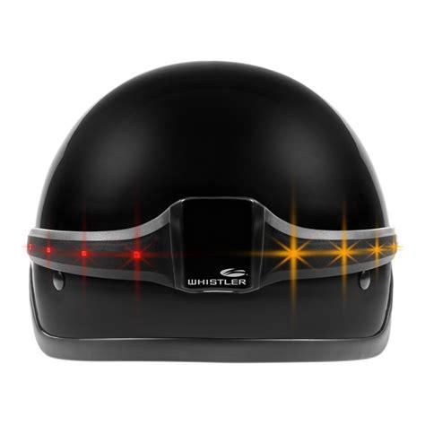 light right turn viewing images for whistler motoglo helmet safety light