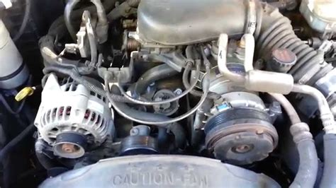 1998 chevrolet 2500 timing belt change replacing the belt tensioner pulley and belt on 1998 chevy s10 youtube