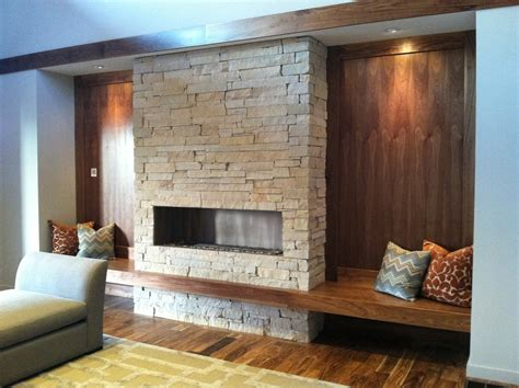 Fireplace Bench by Fireplace And Built In Bench Care S House
