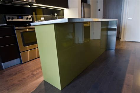 stainless steel kitchen island ikea ikea island with custom thermofoil doors and stainless