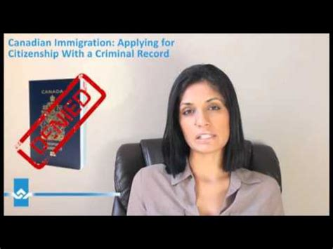 Applying For Citizenship With Criminal Record Applying For Canadian Citizenship With Criminal Record
