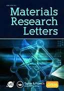 Research Letters In Materials Science Abbreviation Materials Research Letters