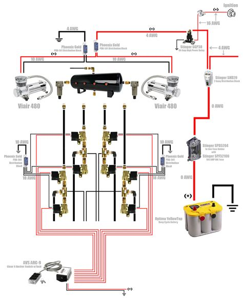 airbag suspension wiring diagram efcaviation