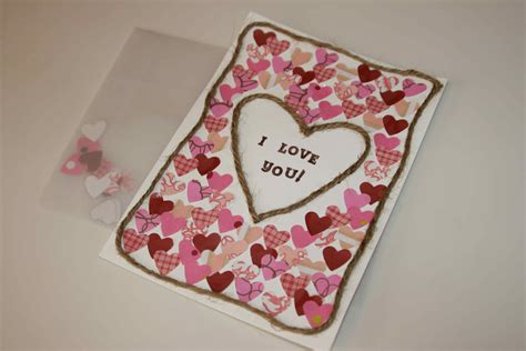 Handmade Valentines Day Card - 25 valentines greeting cards and handmade card