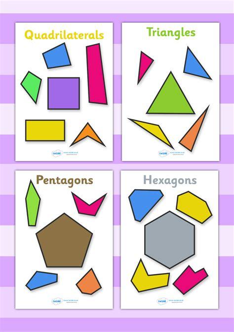 printable shapes display twinkl resources gt gt 2d regular and irregular shapes