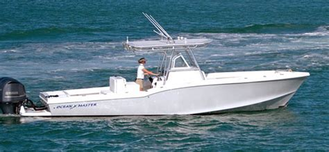ocean boats ocean master marine center console boats research