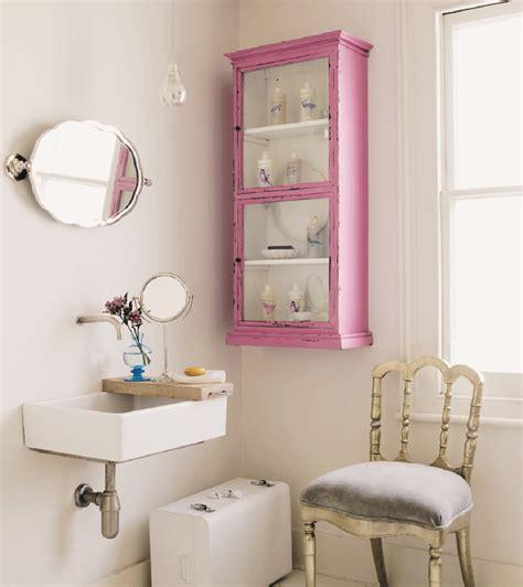 Pink Bathroom Cabinet finds distressed pink cabinet homegirl