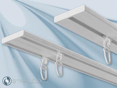 gardinenschiene zweilaufig alu vorhangschiene aus aluminium wendeschiene 1 2 lfg