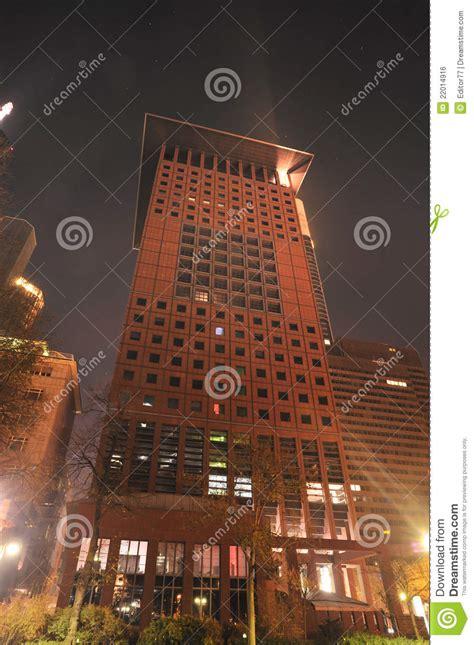 bank of japan frankfurt japan tower in frankfurt by royalty free stock image