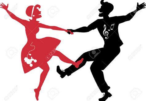 Rockabilly Home Decor 1950 dancers clip art 52
