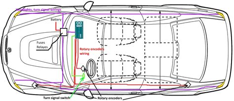 automotive lighting system wiring diagram k