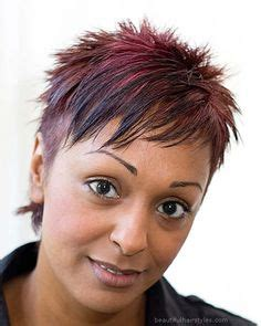 spiky afro very short hairstyles for women over 50 black african