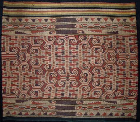 Toraja Ii Skirt kain kebat ritual skirt ketunggau west kalimantan cotton warp ikat early 20th
