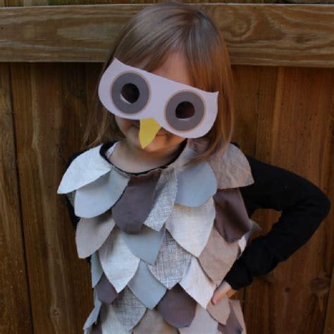 last minute kids owl costume alpha