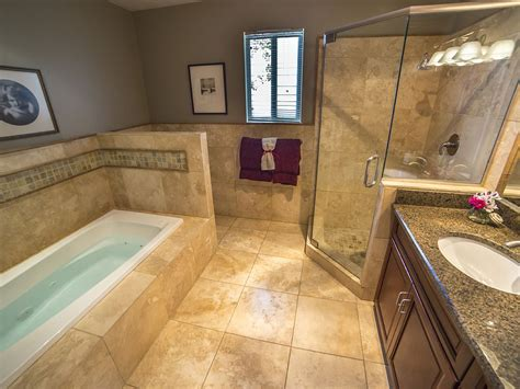bed bath lowes bath with jetted tub and bathroom tiling