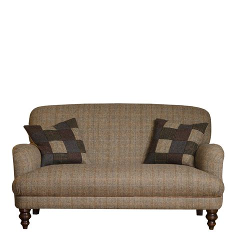 petite loveseat harris tweed braemar petit sofa sofas living room