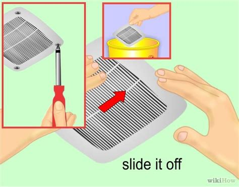 Bathroom Fan Cleaning How To Clean A Bathroom Fan 10 Steps Wikihow