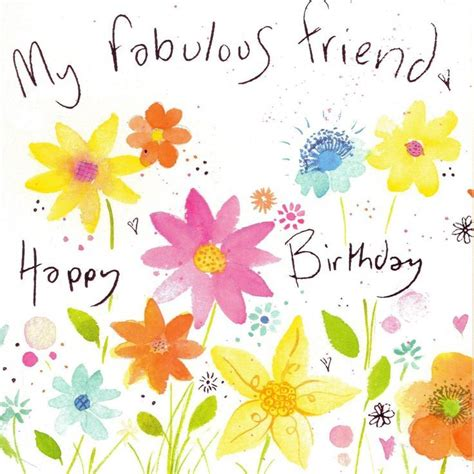 happy birthday friend clipart   clip art images