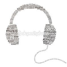 music theme yearbook moodboard on pinterest art deco typography photoshop
