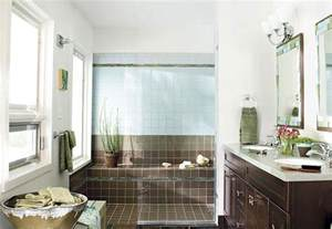 Bathroom Idea Pictures bathroom with contemporary double vanity and brown tiles