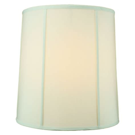 16 drum l shade home concept 16 quot empire fabric drum l shade reviews