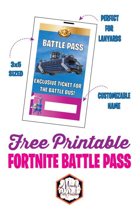 printable fortnite battle pass lanyard mandys