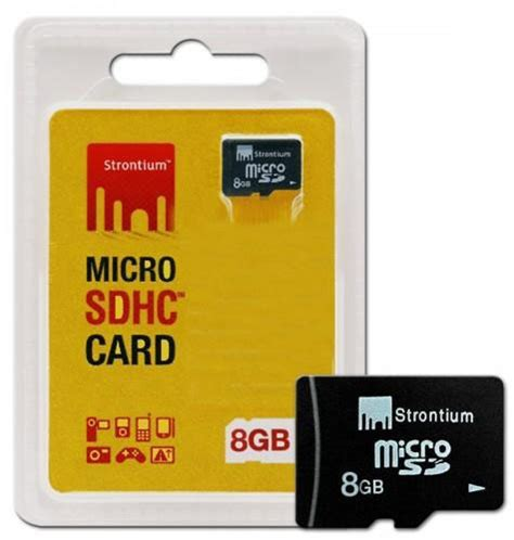 Micro Sd Strontium 8gb strontium micro sdhc 8gb flash memory card asianic distributors inc philippines