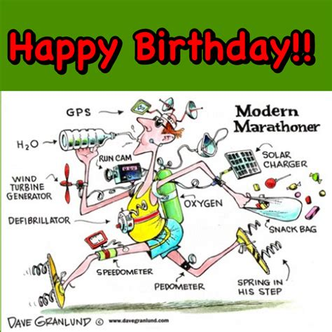 imagenes de happy birthday runner happy birthday runner marathoner marathon lustiges