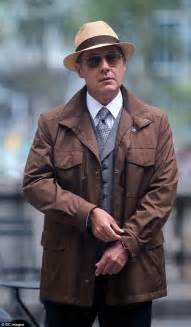 james spader jacket blacklist james spader looks cool in a panama hat on the nyc set of