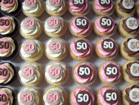 50th Birthday Cupcakes   4 dozen Chocolate, Vanilla, Peanut    Flickr