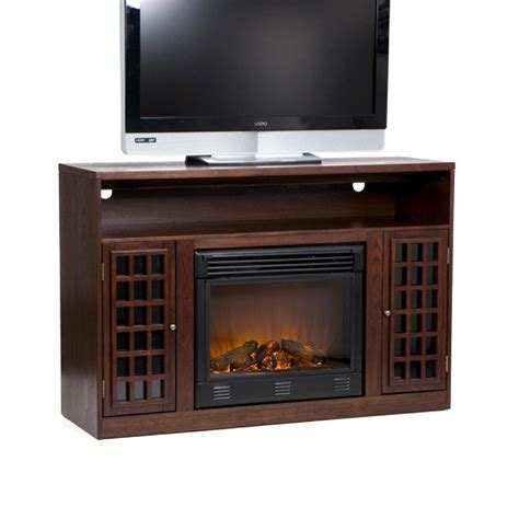 electric fireplace media stands view larger
