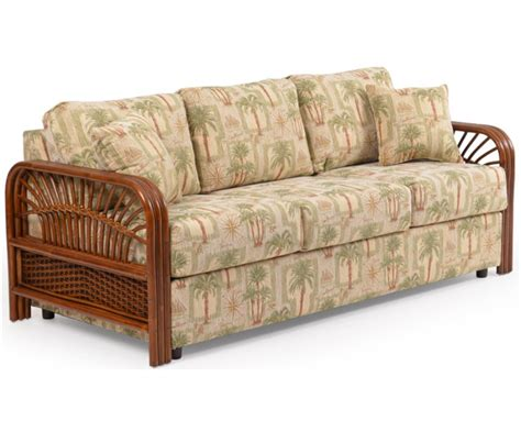Wicker Sofa Sleeper by Sleeper Sofas Indoor Wicker Sofas Loveseats