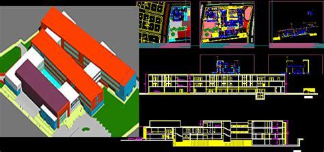 general hospital dd dwg full project  autocad