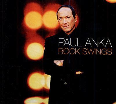 rock swings paul anka disques gt nouveaut 233 s