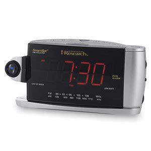 emerson smartset 3 color projection alarm clock ck53528 review
