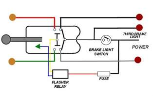 Brake Light System Diagram Brake Light Wiring With 3 Wire Turn Signal Help The H A