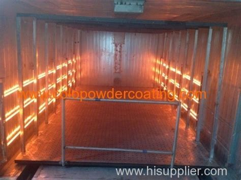 infrared powder curing l infrared electric powder heating oven manufacturer supplier