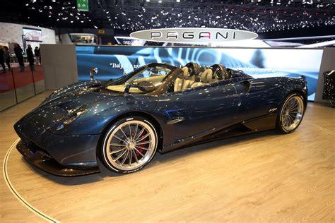 pagani huayra roadster makes its world premiere in geneva