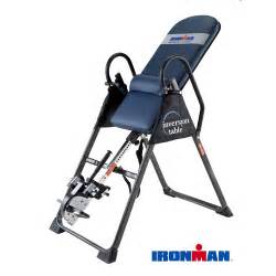 Inversion Table Academy Ironman Gravity 4000 Inversion Table Walmart Com